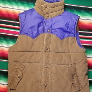 Vintage Levi Reversible Vest